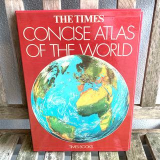 定価6000円 タイムズ 世界地図 本 歴史 英語 海外版