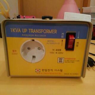 変圧器 AC- ACコンバーター