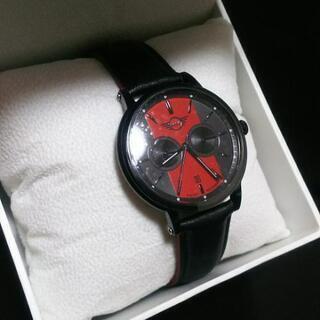 レア  新品  腕時計  メンズ  レッド  ブラック