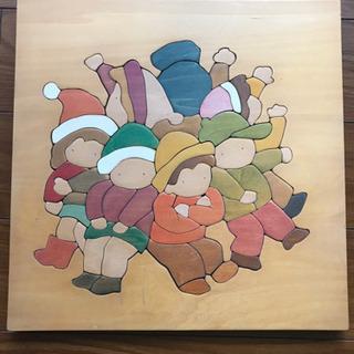 【おまとめ割引あり】【手作り】木工パズル:おしくらまんじゅう