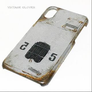 ヴィンテージシルバーF1 iPhoneX.XS対応ケース