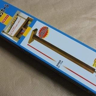 未使用品 地震対策 家具用固定ポール 家具調木製 耐震用つっぱり...