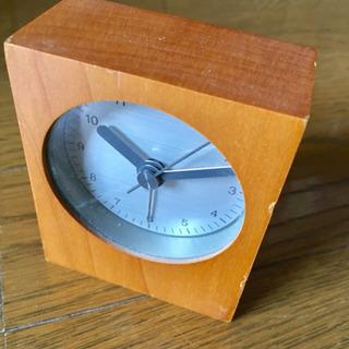 ★〜6/17迄★【ジャンク品】無印良品 置き時計