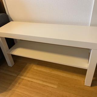 【再開】IKEA テレビ台 ホワイト ラック