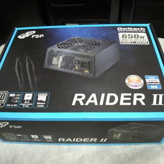 ATX電源 RAIDER II 650w 80PLUS SILVER