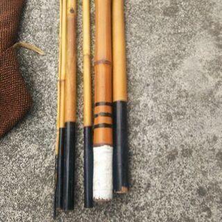 ❗🎵鮎釣竿🎵渓流竹竿🎵メーカー、リョービ、オリンピック