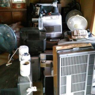 テレビ、扇風機、ファンヒーターなど