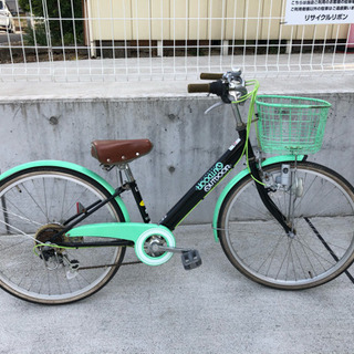 OUTDOOR 6段変速 子供自転車 24インチ