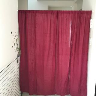 暖簾×2枚組み 鮮やかなさし色でお部屋の雰囲気を変えてみませんか?