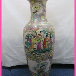 中国美術品 ジャンボ壺 大壺 飾物 置物 をお安くご提供!