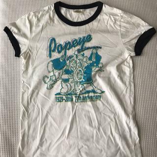 ポパイTシャツ Mサイズ