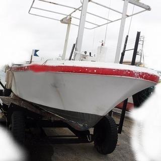 ヤマハ漁船YD26B(FT7)ドライブ船 沖縄中古艇市場の画像