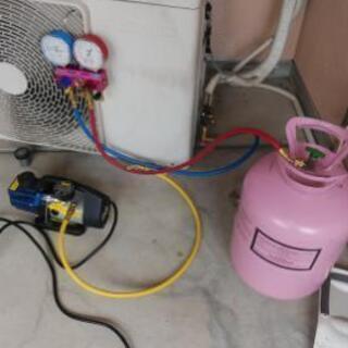 大阪市 家庭用エアコンガス漏れ、水漏れ修理 便利屋ヘルパー