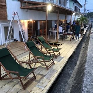 和歌山県日高郡印南町にてカフェを手作りしてます。簡単な大工作業
