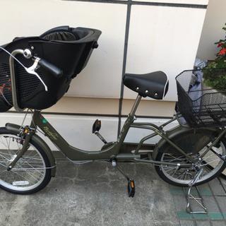 子供乗せ(商談中)自転車(電動ではありません)値下げしました。