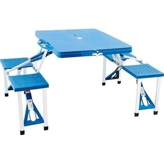 椅子・テーブル一体型のセット