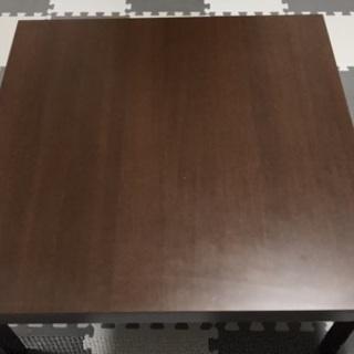 コタツ机テーブル四角形2トーン