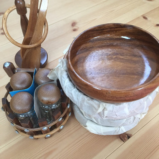 木製 サラダボウル