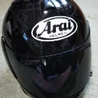 アライのフルフェイス、ヘルメットです。