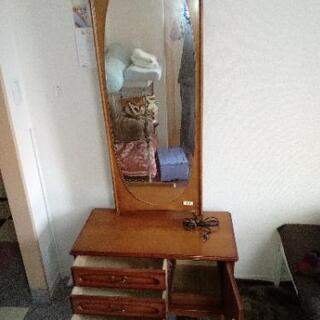 鏡台・ドレッサー 一面鏡