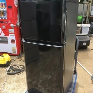 【中古品】2017年製 Haier 121L 直冷式2ドア冷蔵庫...