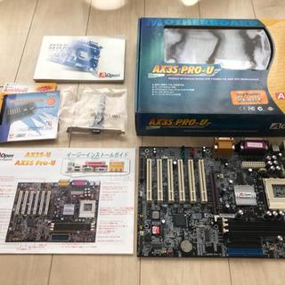 (ジャンク品)A Open マザーボード AX3S PRO-U