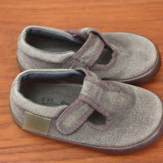peep zoomの靴 紫 14センチ