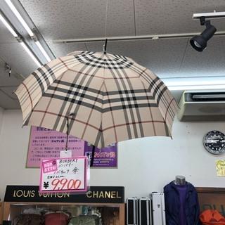 BURBERRY バーバリ ノバチェックデザイン婦人長傘(雨傘)...
