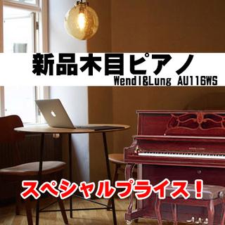 新品木目モデル ウェンドル&ラング AU-116WS 更に!お値引