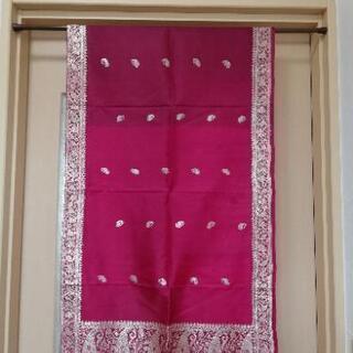 インド 金糸刺繍 布 バラナシ(ベナレス)