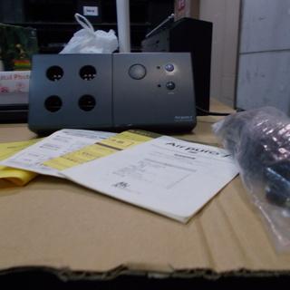マイナスイオン発生式空気清浄器