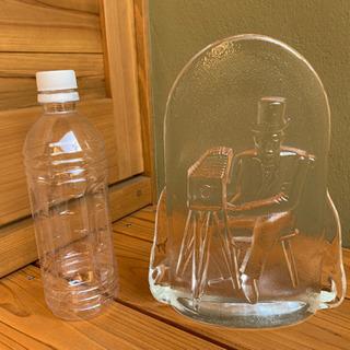 フジカラーサービス25周年記念 置物 ガラス製