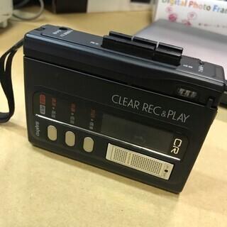 【美品】カセットレコーダー