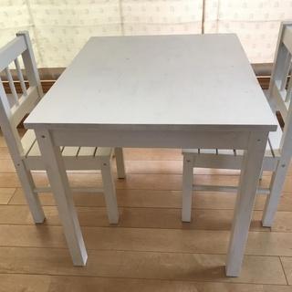 IKEA キッズ用テーブルセットお譲りします(7/11までに取り...