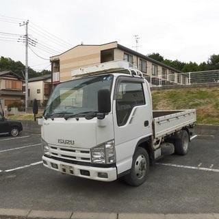 H20 エルフ 2トン積み4WD平ボディ ETC 社外HDDナビ...