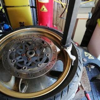 タイヤ交換 車、バイク、原付まで