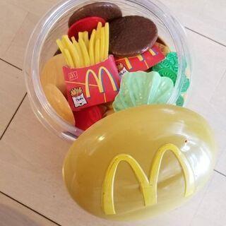 値下げ 幼児用おもちゃ マクドナルド テント 押車つみき