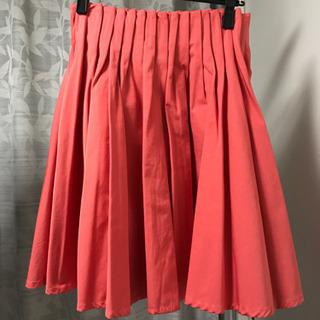 【未使用】サーモンピンク フレア スカート