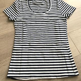 シンプル ボーダー Tシャツ