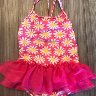 35f2d750b6a 水着 幼児 女の子 ワンピース ピンクの花柄 90 (おみっち) 東陽町の ...