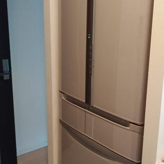 【終了】★値下げ★HITACHI 6ドア冷蔵庫 520L R-S...