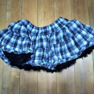ボリュームたっぷりスカート