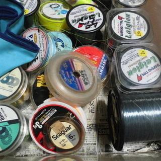 各種「釣り糸」大量出品(色々の号が入っています)