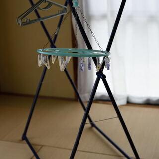 折り畳み式物干し、ハンガー(0円にしました)