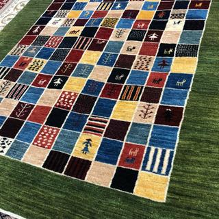 ペルシャ製手織りギャッベ ZOLLANVALI 153×198cm
