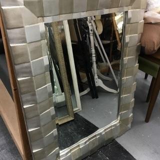 お洒落なワイド鏡