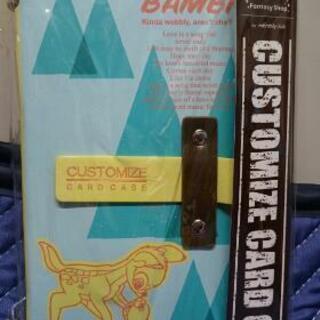 ベルメゾン カスタマイズカードケース「バンビ」