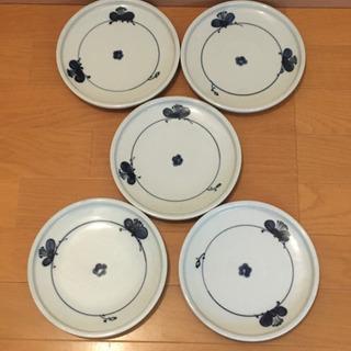 500円 19cm皿 5枚セット