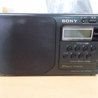 ソニー SONY ICF-M760V [ホーム ラジオ]