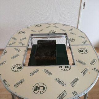 キャンプ コールマンBBQ テーブル
